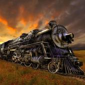 Locomotive Train Railroads New Jigsaw Puzzle icon
