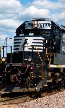 Locomotive Train Railroads New Jigsaw Puzzle poster