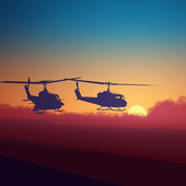 Puzzle Bell UH 1 Iroquois Aircraft icon