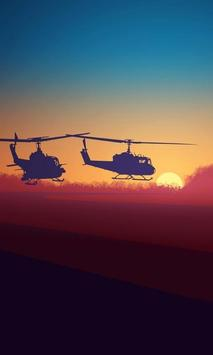 Puzzle Bell UH 1 Iroquois Aircraft poster