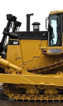 Puzzle New Big Caterpillar Trucks apk screenshot