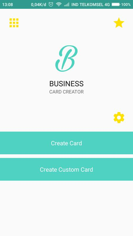 Business card creator free apk download free business app for business card creator free poster reheart Image collections