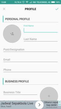 Business card creator free apk download free business app for business card creator free apk screenshot colourmoves Gallery