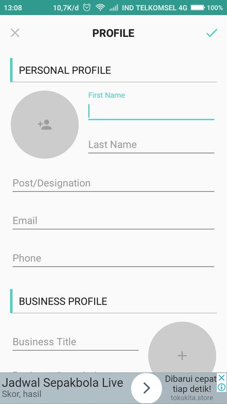 Business card creator free apk download free business app for business card creator free apk screenshot reheart Image collections