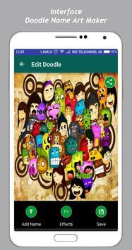 Art Doodle Maker Name screenshot 2