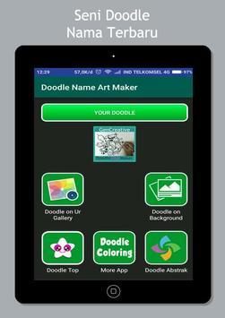 Art Doodle Maker Name screenshot 5