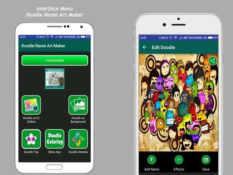 Art Doodle Maker Name screenshot 6