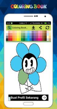New Coloring Game of Bendy screenshot 2