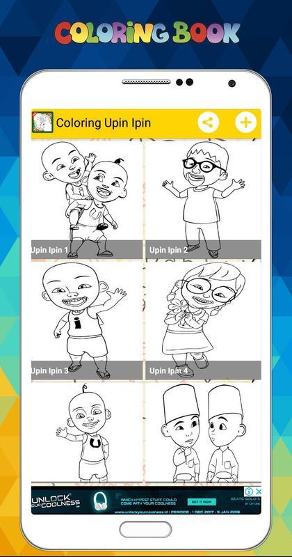 Mewarnai Upin Ipin Menggambar Lukisan Untuk Anak For Android Apk