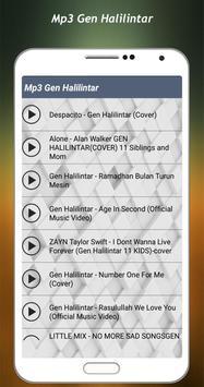 Cover Song Gen Halilintar Full Album 2018 screenshot 1
