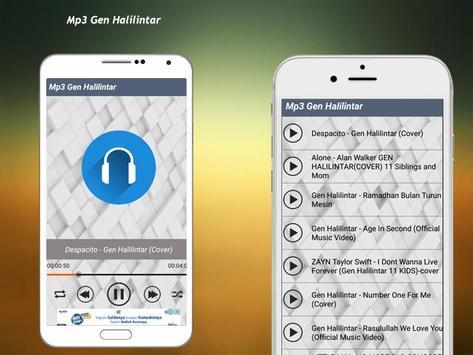 Cover Song Gen Halilintar Full Album 2018 screenshot 4