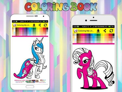 Coloring Book for My Little Pony screenshot 4
