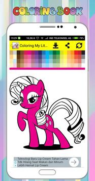 Coloring Book for My Little Pony screenshot 1