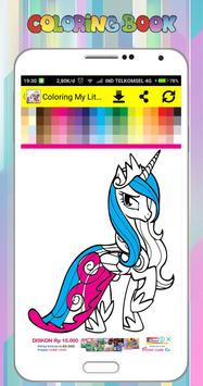 Coloring Book for My Little Pony screenshot 2