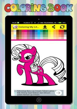 Coloring Book for My Little Pony screenshot 3