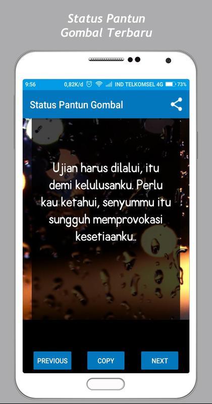 Pantun Gombal Status 40 For Android APK Download 8020 Pantun Gombal Maut