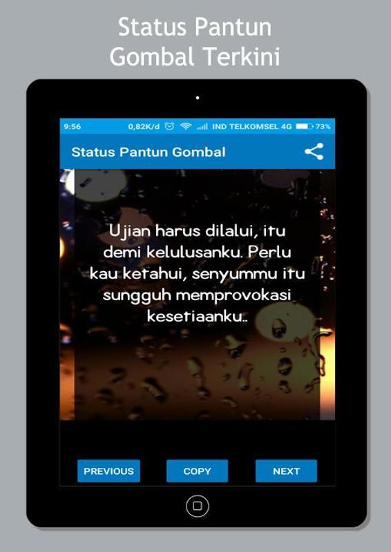 Pantun Gombal Status 40 For Android APK Download 6829 Pantun Gombal Maut