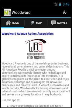 Transform Woodward poster