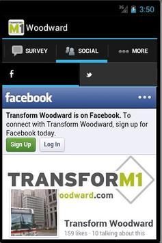 Transform Woodward screenshot 2