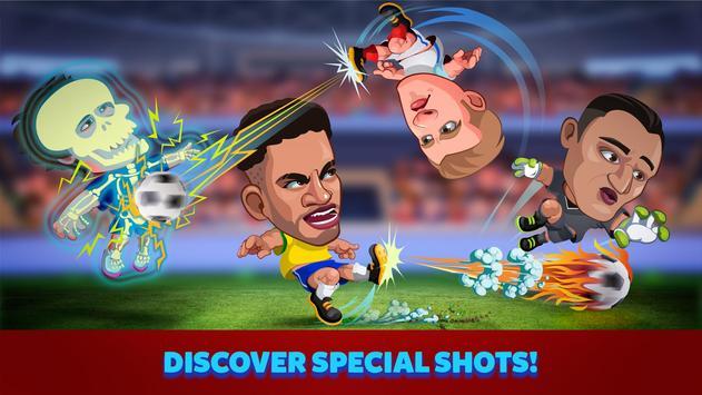 Head Soccer Russia Cup 2018: World Football League apk screenshot
