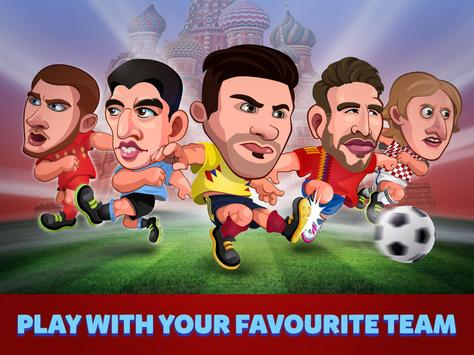 Head Soccer Russia Cup 2018: World Football League screenshot 7