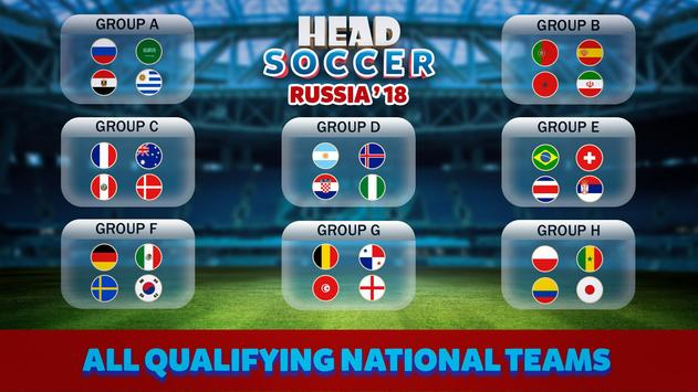 Head Soccer Russia Cup 2018: World Football League screenshot 2