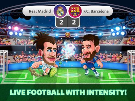 Head Soccer La Liga 2018 - Jogos de Futebol apk imagem de tela