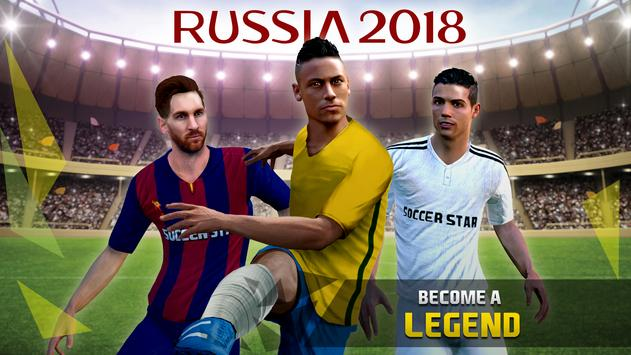 Soccer Star 2018 World Cup Legend: Road to Russia! poster