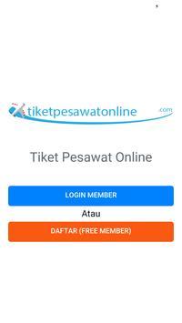 Tiket Pesawat Online poster