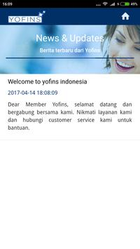 Yofins apk screenshot