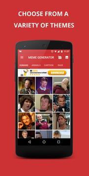 Funny Meme Generator apk screenshot