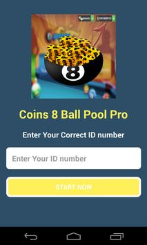 Coins for Ball Pool Prank poster