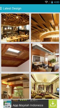 Ceiling Design Ideas Free poster