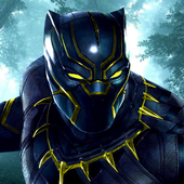 Black Panther Jungle Fruit : Match 3 Game 2018 icon
