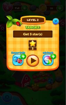 Black Panther Jungle Fruit : Match 3 Game 2018 screenshot 1