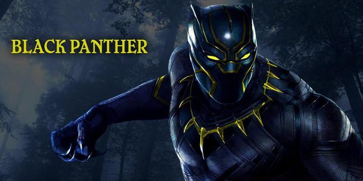 Black Panther Jungle Fruit : Match 3 Game 2018 screenshot 2