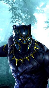 Black Panther Jungle Fruit : Match 3 Game 2018 screenshot 3
