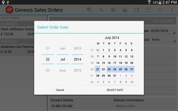 Sales Orders for Business screenshot 12
