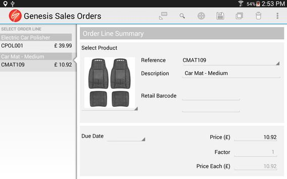 Sales Orders for Business screenshot 13