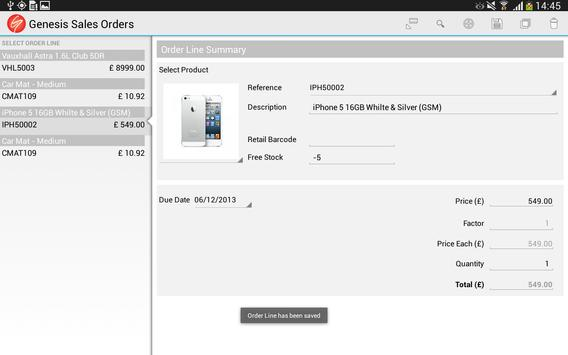 Sales Orders for Business screenshot 5