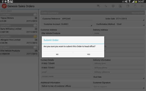 Sales Orders for Business screenshot 7