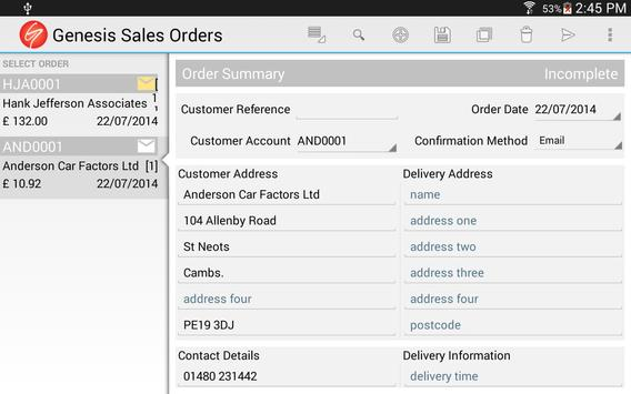 Sales Orders for Business screenshot 9