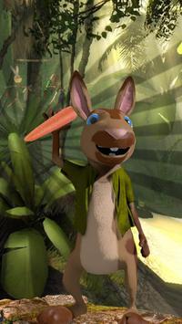Peter Rabbit Fruit : Match 3 game poster