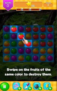 Peter Rabbit Fruit : Match 3 game screenshot 2