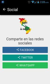 Radio de América screenshot 1