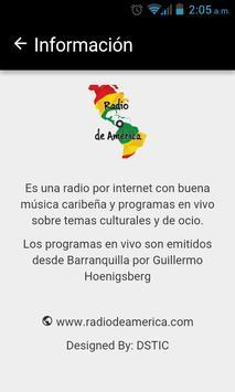 Radio de América screenshot 2