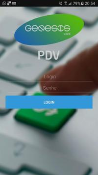 Genesis Card PDV poster