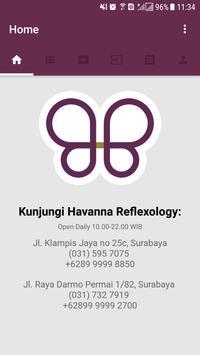 Havanna Reflexology screenshot 1