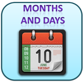 Learn Days and Months for Kids icon