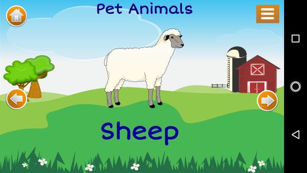 Learn Animals for Kids screenshot 3